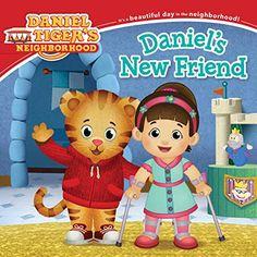 Daniel's New Friend (Daniel Tiger's Neighborhood) by Becky Friedman http://www.amazon.com/dp/1481435434/ref=cm_sw_r_pi_dp_nCWlvb1WZ5PSA