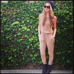 Team Zoe wears Pre-Fall - (Kristi in the Anderson blouse & Emilia pants)