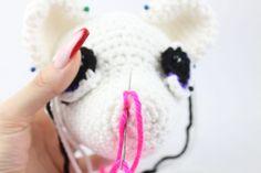 Anime Fox Amigurumi - Free Crochet Pattern - StringyDingDing Crochet Dinosaur Pattern Free, Free Crochet, Free Pattern, Crochet Patterns, Free Anime, Fox, Amigurumi, All Free Crochet, Crochet Pattern