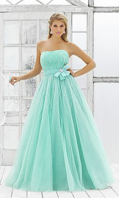Ball Gown for Prom by Blush BL-5107 at PromGirl.com