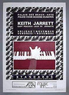 KEITH JARRETT -  Brussels 1985