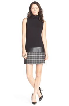 B44 Dressed by Bailey 44 'Diane' Turtleneck Drop-Waist Dress available at #Nordstrom