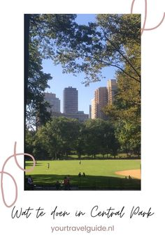 Een bezoek aan Central Park kan natuurlijk niet ontbreken tijdens een stedentrip New York. Benieuwd naar de leukste bezienswaardigheden in Central Park? Central Park, New York Travel Guide, Stuff To Do, Things To Do, Usa Cities, Ultimate Travel, Solo Travel, Where To Go, North America
