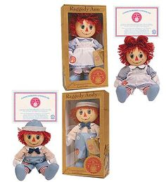 Raggedy Ann & Andy Anniversary Dolls - Christmas Gifts?