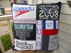 What a great way to up cycle and re purpose t-shirts or clothing into a pillow that they will cherish forever! This custom tee shirt memory pillow is created from your T Shirts or clothing and makes a one of kind custom gift for some one you love. My customers tell me this was the perfect graduation gift for their high school sons! ** Pillow front is made from t shirts or clothing you send to me. and is quilted with simple straight line stitching ** Pillow back is a soft anti pill fleece…