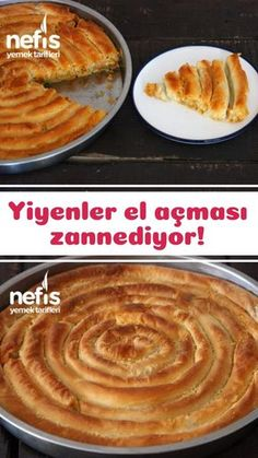 Bu B re i Yiyenler El A mas Zannediyor Tarifi nas l yap l r 20 328 ki inin defterindeki bu tarifin resimli anlat m ve deneyenlerin foto raflar burada Yazar Emine Ay e Karatasl # Yummy Drinks, Yummy Food, Leftovers Recipes, Food Platters, Chocolate Chip Cookie Dough, Turkish Recipes, Crepes, Sweet Recipes, Yummy Recipes