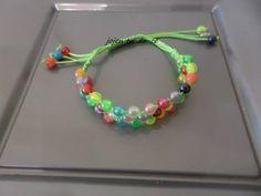 bracelet multi color 3 rangs