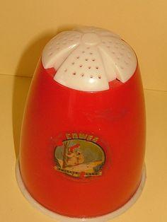 1950s Retro Plastic Flour Sifter Sugar Shaker by BiminiCricket, $45.00