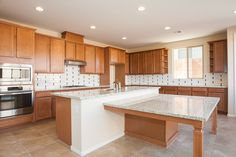 Love, love, love this kitchen! Las Vegas' Eldorado Heights Homesite 69 is move-in-ready, too. Click image for pricing and details.