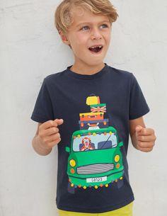 dc2317e33 Animal Antics T-Shirt by Mini Boden Boden Boys, Mini Boden, Animal Antics