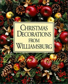 Christmas Decorations from Williamsburg, Virginia; projects and inspiration ... in my shop now