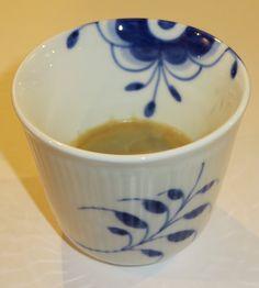 Love my Danish designed coffee mug by Royal Copenhagen