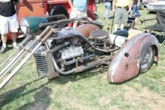 Rat trike Vw Trike, Trike Motorcycle, Custom Trikes, Custom Choppers, Steampunk Motorcycle, Monocycle, Diy Go Kart, Motor Scooters, Bobber Chopper