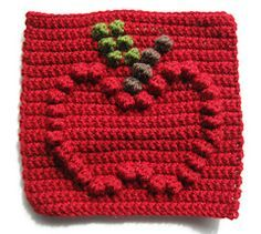 Apple Bobble Chart ~ free pattern ᛡ