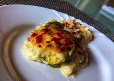 Fehéres-zöldes-rakottas Rizses-besameles rakott kelbimbó 💚 | Incze Andrea Adrienn receptje - Cookpad receptek