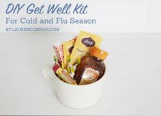 Health Kick: DIY Get Well Kit PERFECT! I really love this idea! Just what someone needs to put a smile on their face and some pep in their step! Craft Gifts, Diy Gifts, Organize Life, Cute Gifts, Best Gifts, Get Well Gifts, Back To Nature, Homemade Gifts, Homemade Soup