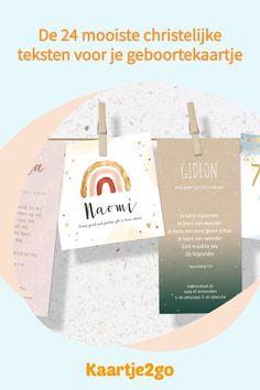 Bij de geboorte van je kindje wil je natuurlijk iedereen op de hoogte stellen van jullie nieuwe leven. En als het voor jou vaststaat dat je dit kindje van God hebt gekregen, is het mooi om een verwijzing naar je geloof te maken in het geboortekaartje. Wij verzamelden daarom heel veel mooie christelijke teksten voor op het geboortekaartje, zodat jij een persoonlijk kaartje stuurt. James 1 17, Place Cards, Place Card Holders, Tips, Counseling