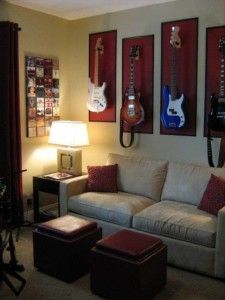 guitarras penduradas