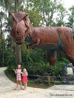 Great Florida day trip - Dinosaur World! #LoveFL Ad