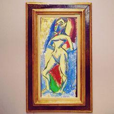 """Femme nue"" di Pablo Picasso. #PiazzaDuomo #Europa #Europe #Italia #Italy #Lombardia #Milano #Milan #Expo #MuseoDelNovecento #MuseoDel900 #Museo #Museum #Arte #Art #Picasso #PabloPicasso #Cubismo #Cubism #Donna #Woman #Italia365 #IlikeItaly by maurojohnathanmanzo"