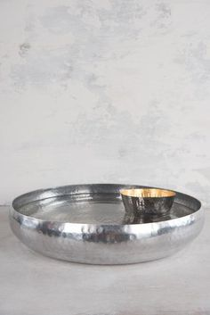 Gold/Silver Beaten Metal Floating Votive