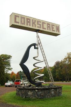 Worlds Largest Corkscrew