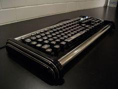 Type writer and keyboard love child.