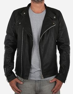 RVLT Revolution - Leather Jacket 7339 black
