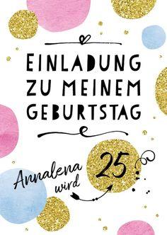 Happy Dots 12 - all-invitations. 12th Birthday, Happy Birthday, Birthday Invitations, Birthday Cards, Birthday Ideas, Sofia Party, Sweet Sixteen Parties, Paris Party, Ice Cream Party