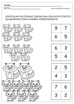 Exercice Maths MS Réaliser une collection de 3 à 5 ...