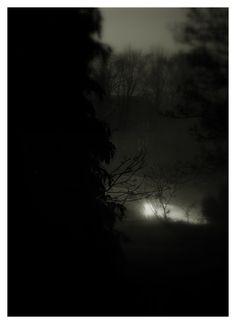 "stonelantern: "" yeswearemagazine: ""Lights in the fog © Stone Lantern : "" Thank you …….best wishes, Jack "" Stone Lantern, Lanterns, Journal, Lights, Celestial, Sunset, Outdoor, Outdoors, Lamps"