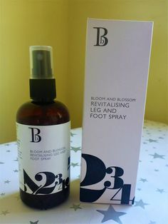 Beauty, Bargains and Beyond: Bloom and Blossom Revitalising Leg and Foot Spray