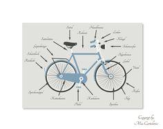 Postkarte Bike Tools http://www.miacartoleria.de/