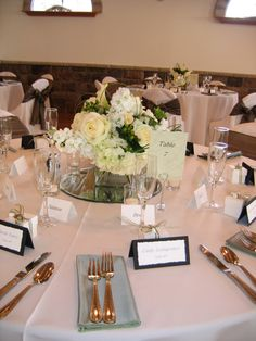 neutral colors and very elegant for a wedding reception