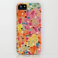Spring iPhone & iPod Case by Ink and Paint Studio -  #abstractart #art