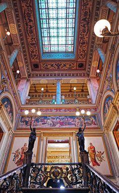 Escadaria Principal - Palácio do Catete - Museu da República - Rio de Janeiro - Brasil