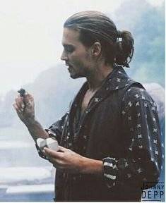 Johnny Depp as Roux in Chocolat