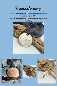 #zoeseleuthera #Silber935 # Unikatschmuck #Ringe #Ohrringe #Text #Koordinaten #maritim #handgefertigt#handmadejewelry #Yoga #Namaste