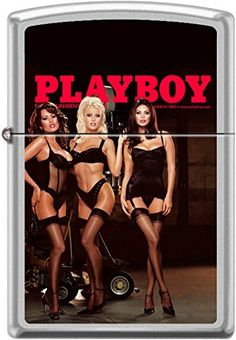 Zippo Playboy March 2002 Cover Windproof Lighter. March 2002 Playboy cover on a Satin Chrome Finish. Brand New in the Original Zippo Packaging. Made in the USA. Zippo Lifetime Guarantee Product Features Zippo Playboy March 2002 Cover Windproof Lighter Satin Chrome Finish Brand New and in the Original Zippo Packaging. Made in the USA Zippo […]