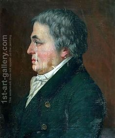 Portrait de Franz Anton Mesmer par Paul Carpentier