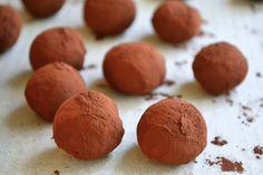 Rich Dark Chocolate Truffles