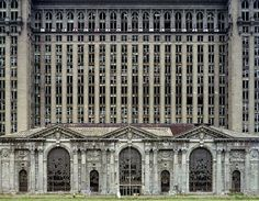 Has to be one of my favorite photographs from Meffre/Marchand of the Ruins of Detroit Michigan Station