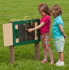 http://adventurouschild.com/root-garden-with-observation-doors.php  There is a whole new underground world to discover!  Slide the Root Garden doors open to see the plant roots and bugs underneath the ground.  #gardening #preschool