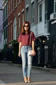 Love this look! Stylish Summer Outfits, Casual Summer Outfits, Simple Outfits, Classy Outfits, Chic Outfits, Trendy Outfits, Fashion Outfits, Western Outfits Women, Cute Outfits With Jeans