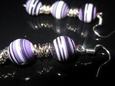 Ein entzückendes Paar Ohrhänger mit je 3 Perlen.  Die Perlen  sind von Hand bearbeitet.  http://de.dawanda.com/product/34763613-925-Silber-Ohrhaenger-Rainbow-Jaspis Einige Info´s zum Regenbogen Jaspis: Er soll die Blutz...