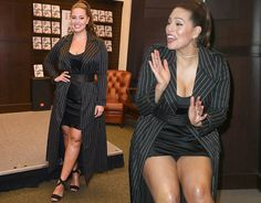 Ashley Graham made sure all eyes were on her as she flaunted her killer curves.