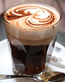 When the mood hits. Give me a little swirl, a little cinnamon, a little nutmeg and some coffee