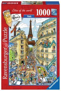 Ravensburger Puzzle 1000pc - Paris By Fleroux