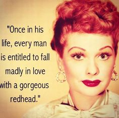 The only nice quote about gingers