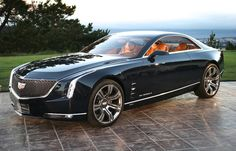 Cadillac Elmiraj Concept - General Motors - luxury coupe
